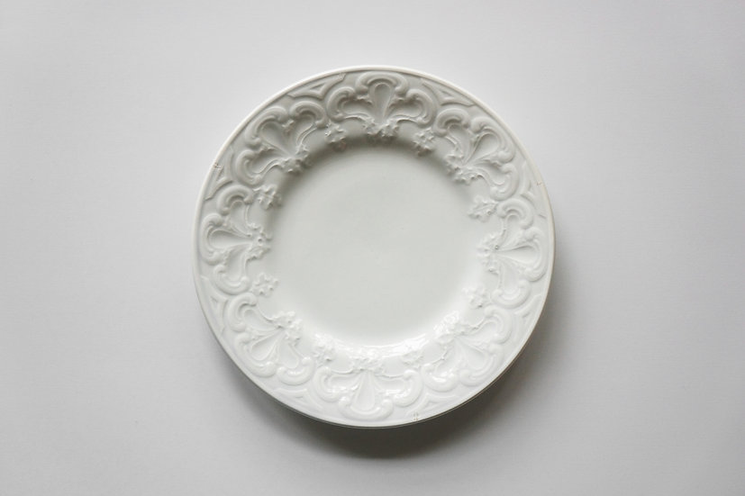 Side Plate / Creil et Montereau / 1876 - 1884 FRANCE