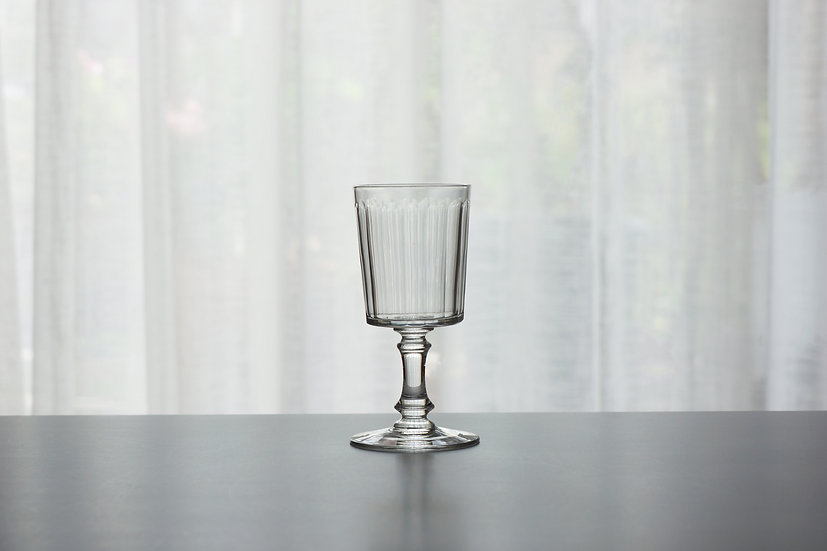 "Rare Small Wine Glass / Baccarat ""6410 Chicago"" / -Early1900 FRANCE"