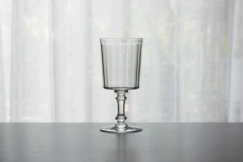 """Rare Water Glass / Baccarat """"6410 Chicago"""" / -Early1900 FRANCE"""