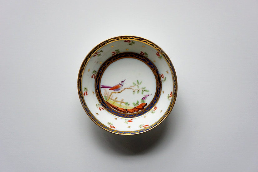 Saucer / Chelsea Derby / 1770s ENGLAND