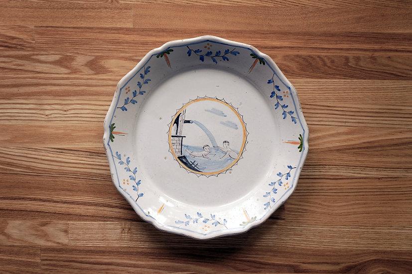 Plate / Nevers