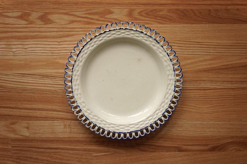 Plate / Creamware / Leeds Pottery [2]