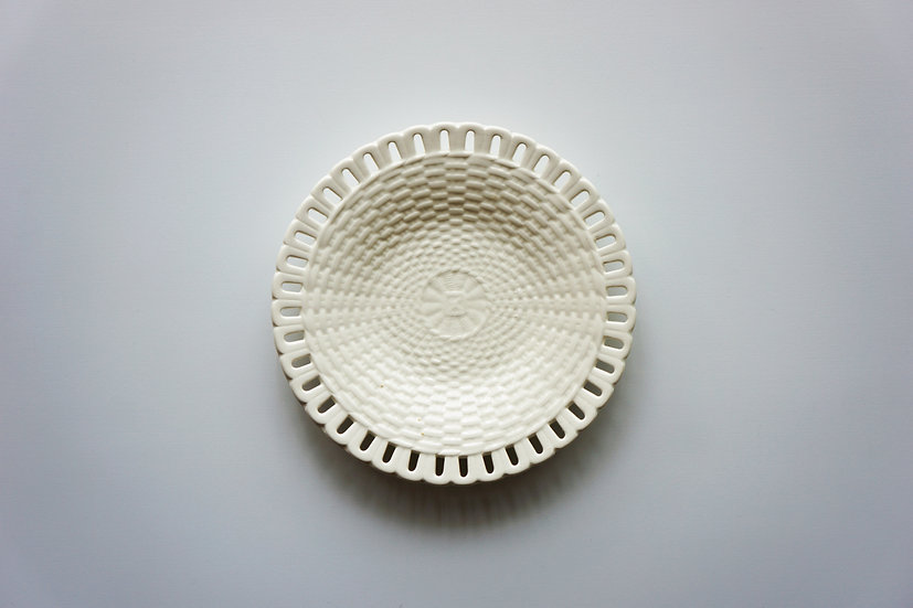 Small Basket Dish / Waechtarsbach / 1890-1930 GERMANY