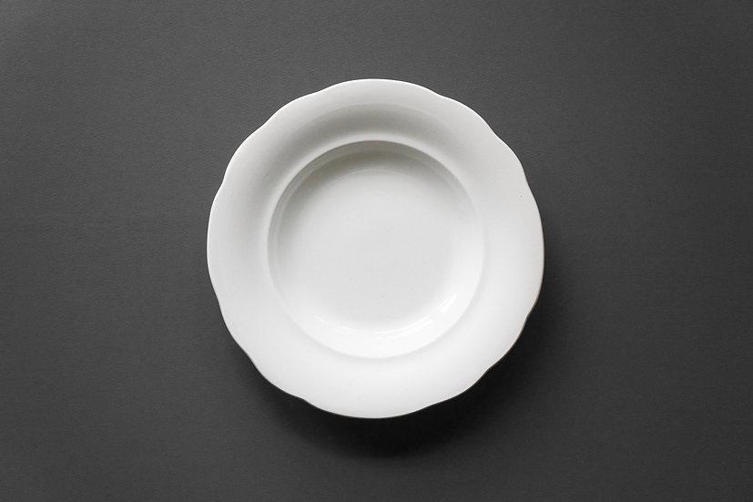 Deep Side Dish / Creil et Montereau / 1876-1884 FRANCE