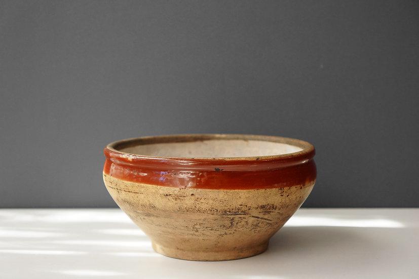 Bowl / Terracotta / 1800's FRANCE