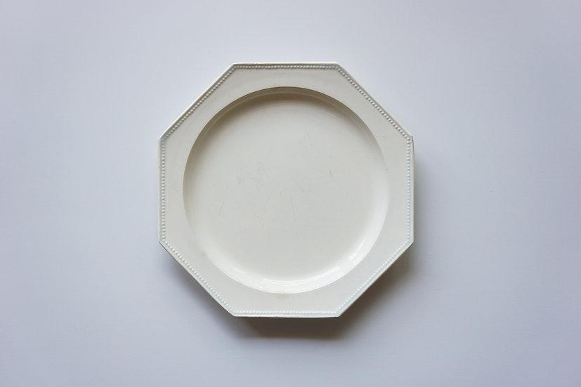 Octagonal Dish / Choisy le Roy / -1820 FRANCE