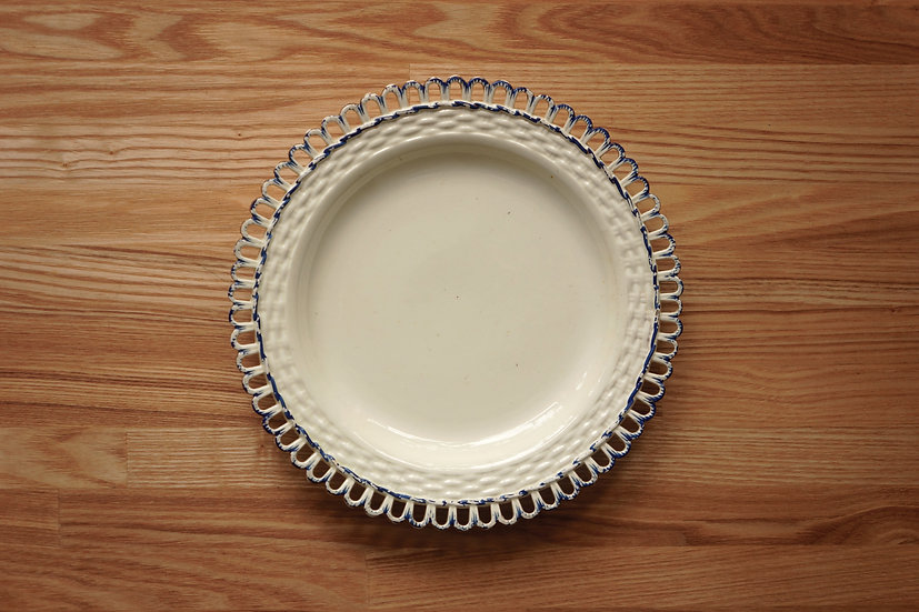 Plate / Creamware / Leeds Pottery [4]