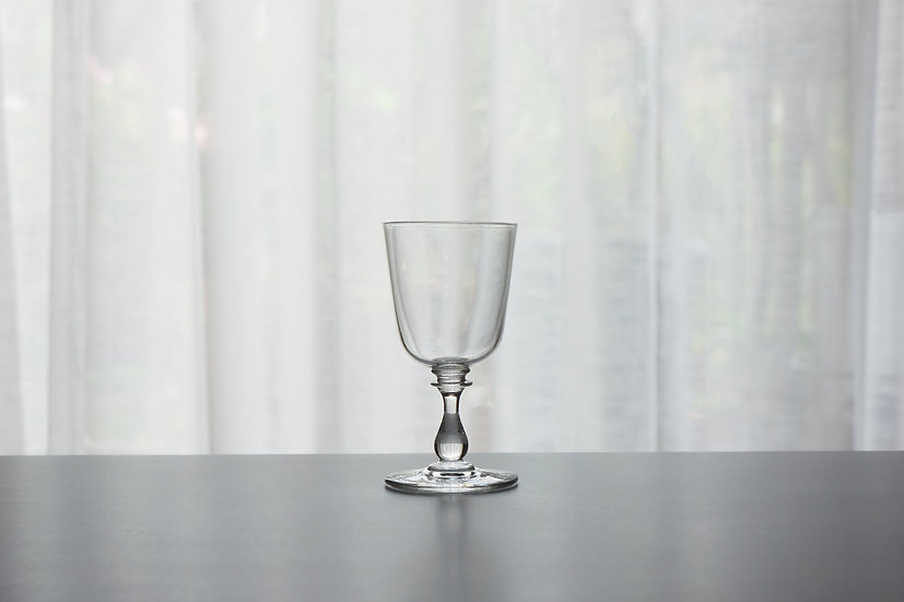 Small Wine Glass / Crystal Glass / -1920 FRANCE