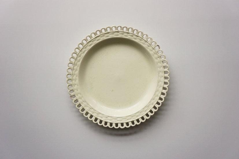 Creamware Dish / Leeds / 1815 ENGLAND