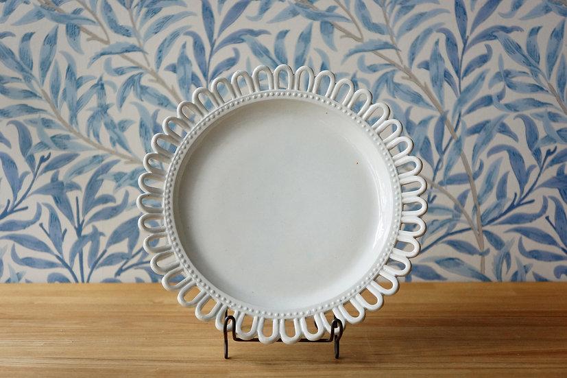 Flower Rim Dish / Choisy le Roi [2]
