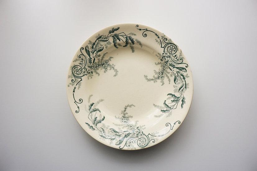 Deep Dish / H.B. & Cie Choisy le Roi / 1890-1910 FRANCE