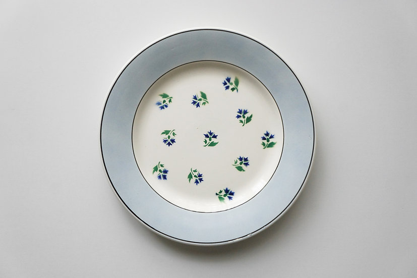 Plate / Digoin Sarreguemines / 1950s- FRANCE