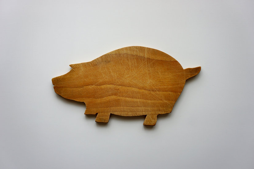 Chopping Board / Pig / 1900- FRANCE