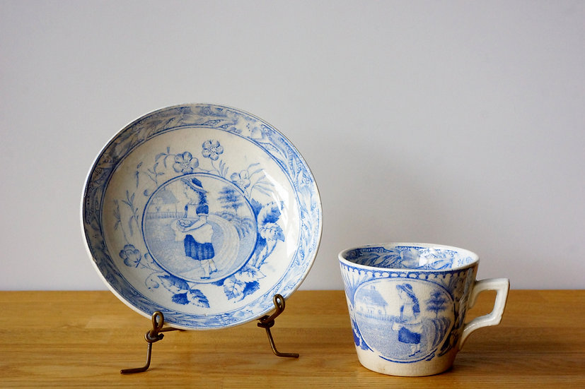 Children's Teaware / C&S / Staffordshire / -1820 ENGLAND