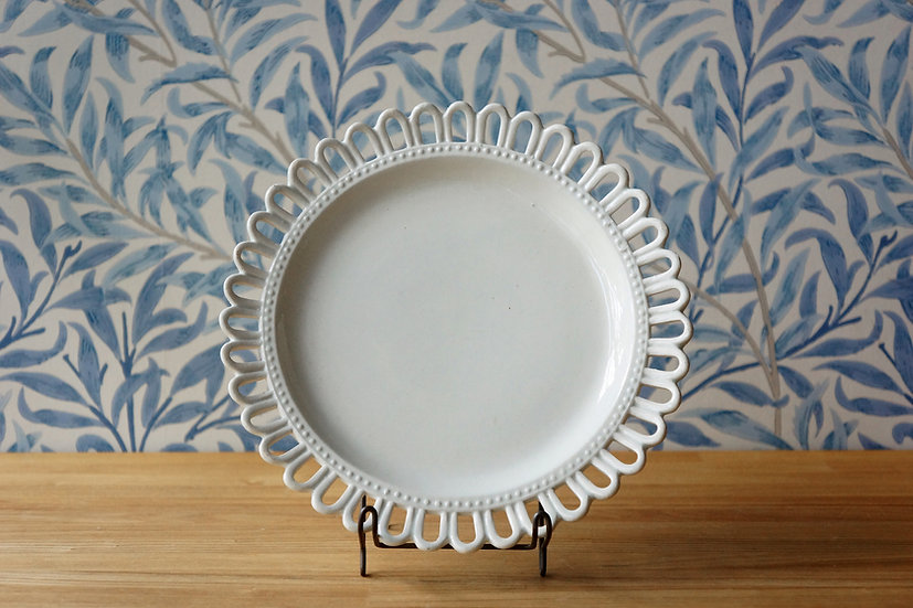 Flower Rim Dish / Choisy le Roi [1]