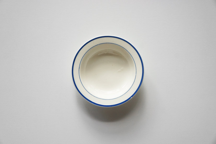 Creamware Toy Round Dish / WEDGWOOD / -1840s ENGLAND