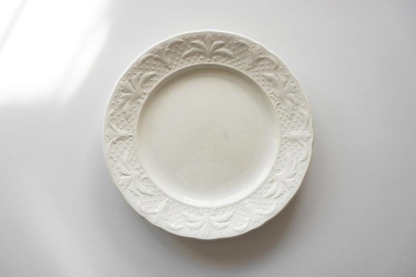 Dessert Plate / J. Vieillard & Cie Bordeaux / 1829-95 FRANCE