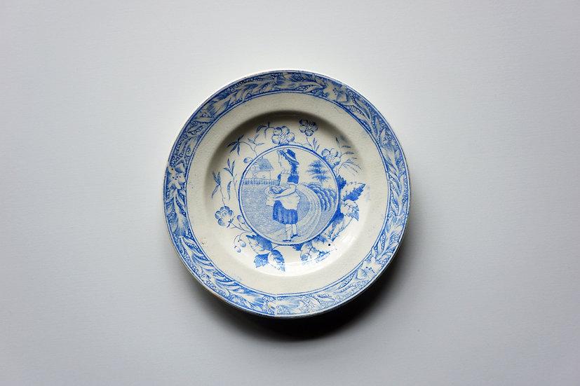 Children's Teaware / Dish / Staffordshire / -1820 ENGLAND