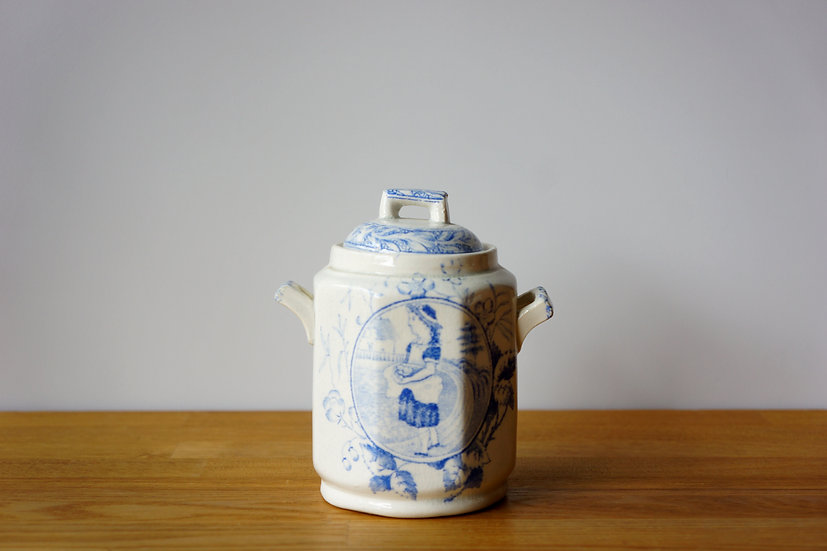 Children's Teaware / Sugar Pot / Staffordshire / -1820 ENGLAND