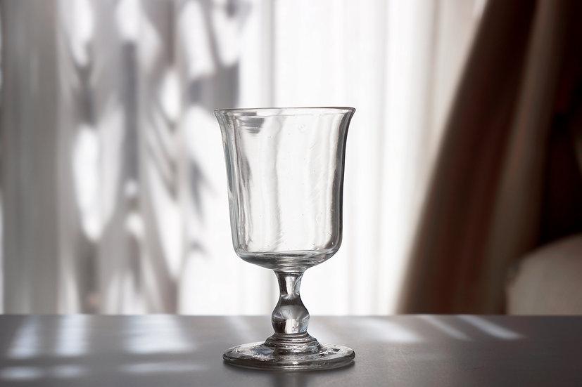 Tulip Bistrot Glass / 1800s FRANCE