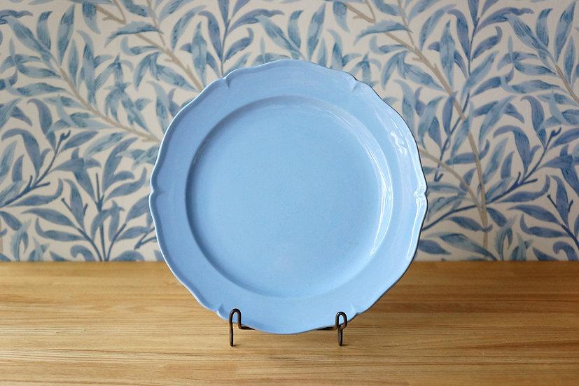Flower Rim Dish / Creil et Montereau [2]