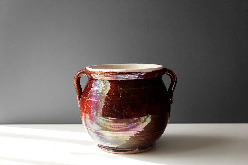 Small Pot / Cul Noir / 1800s FRANCE