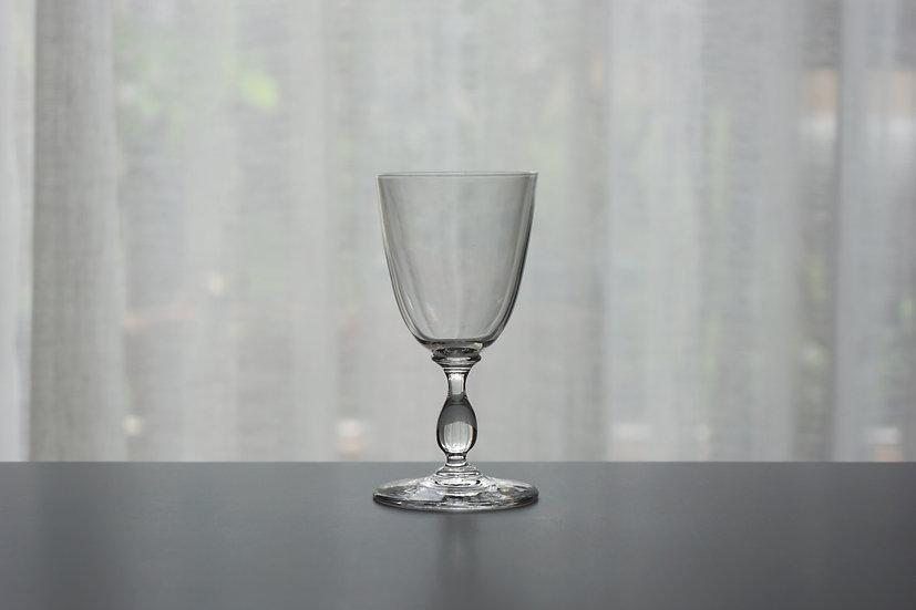 """Liqueur Glass / Baccarat """"Gondole"""" / -1920 FRANCE"""