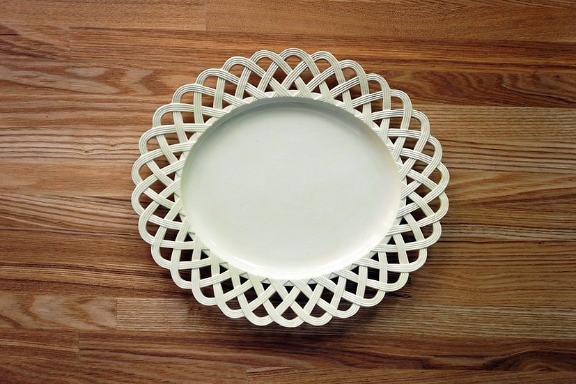 Platter / Creamware / Leeds Pottery
