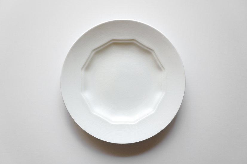 Dodecagonal Plate / Creil et Montereau / 1890-1930 FRANCE
