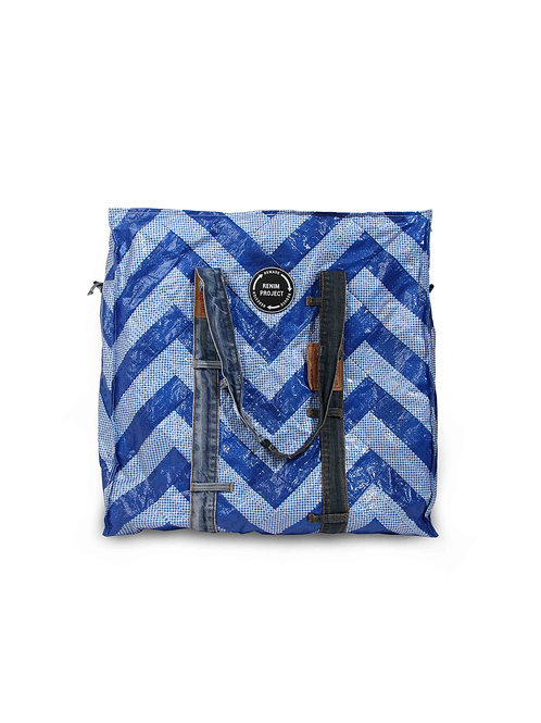 Recrafted Bluesheet Tote Bag