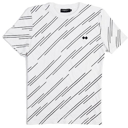 Oblique Stripe T-Shirt