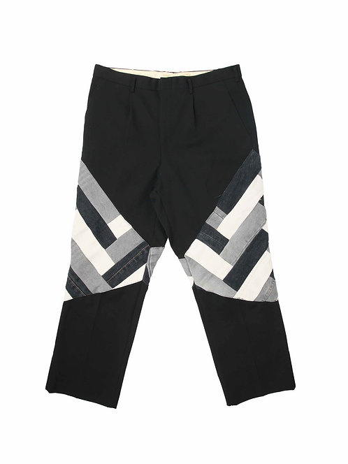Recrafted Patchwork Trouser