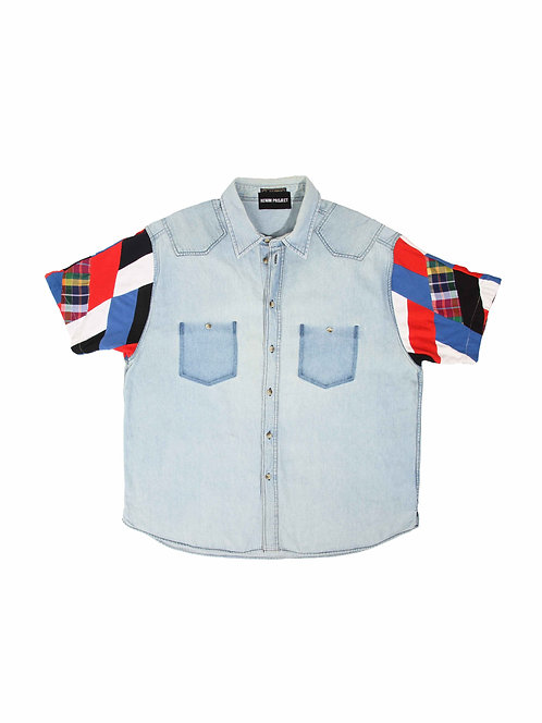 Recrafted Denim Shirt