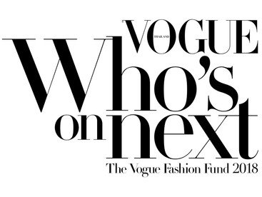 Runner Up of VOGUE Who's On Next 2018