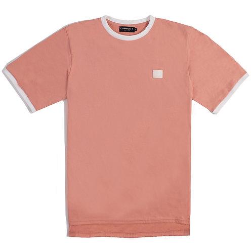 Pink Ringer-Tee Oversize