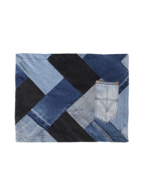 Classic - Upcycled Denim Placemat