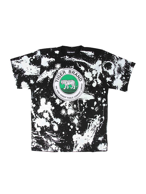 Black Sprash Tee