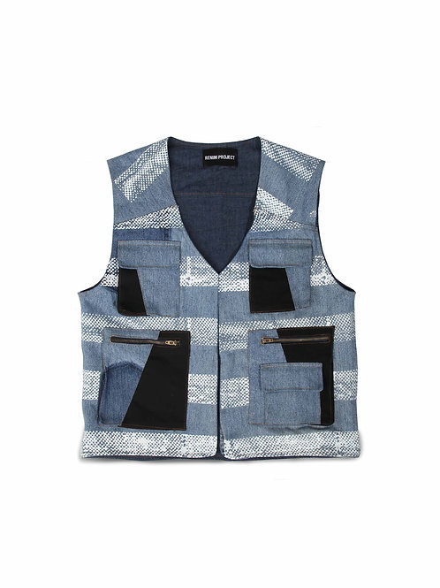 Bluesheet Printed Vest