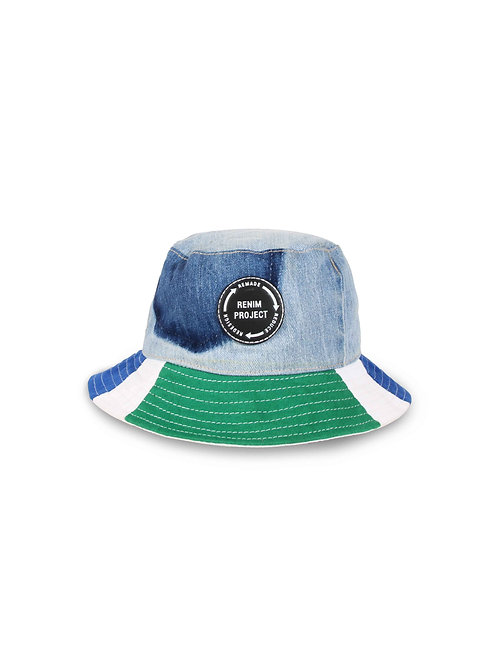 Recrafted Patchwork Bucket Hat