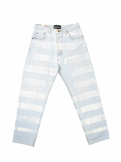 Bluesheet Printed Straight Jeans