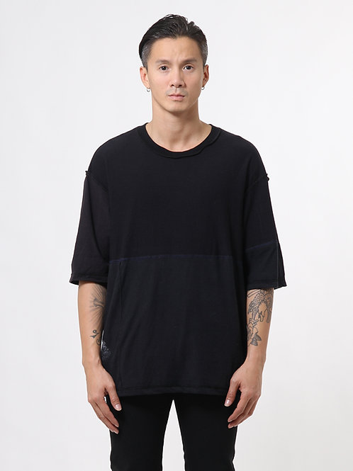 Deconstructed Black T-shirt
