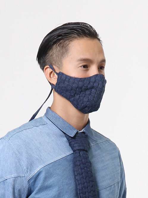 Handwoven Denim Mask