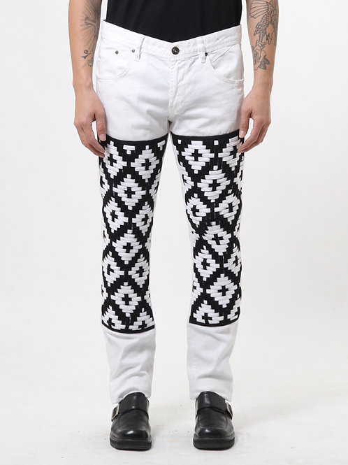 Graphic Woven Jeans