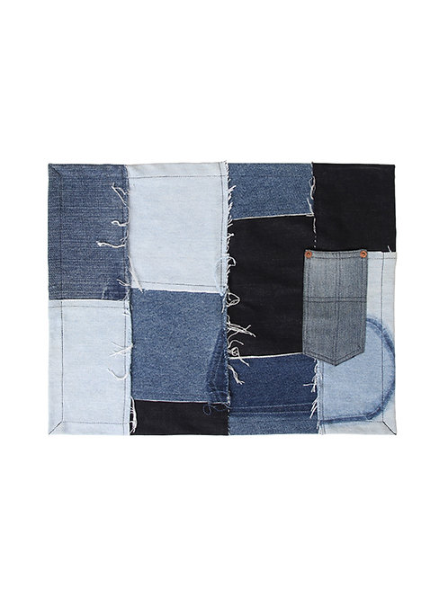 Signature - Upcycled Denim Placemat