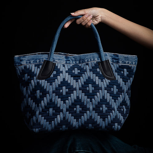 METRIX Handcrafted Tote Bag