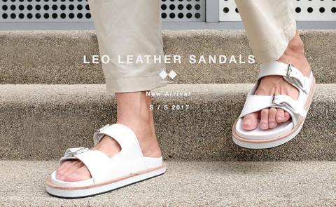 มารู้จักรองเท้าแตะรุ่นใหม่ LEO Leather Sandalsจาก COMMON-T กัน!