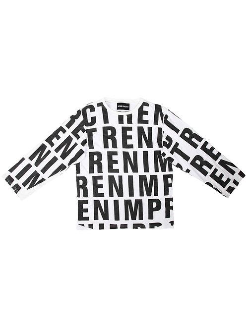 Regenerated Typo T-shirt