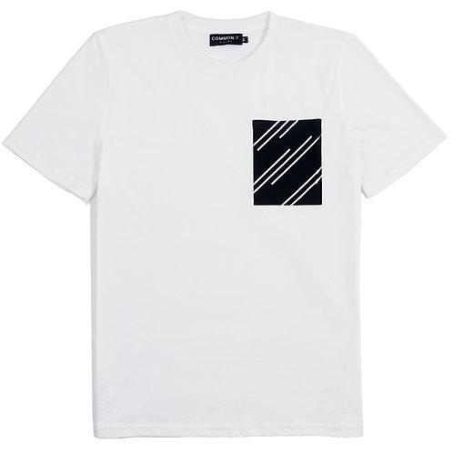 Diagonal Pocket T-Shirt