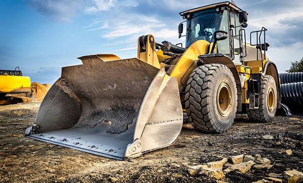 traktors, ekskavators, tehnikas noma