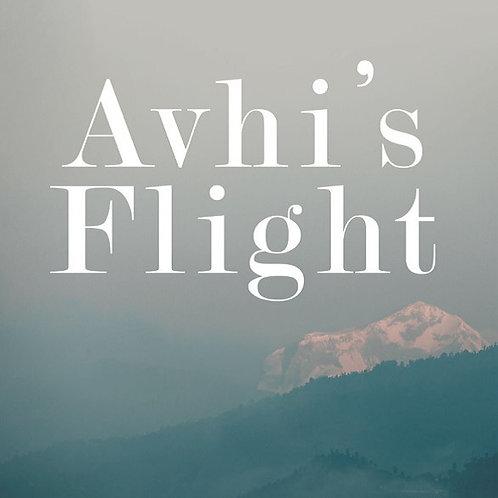 Avhi's Flight - 6 x 9 Hardcover